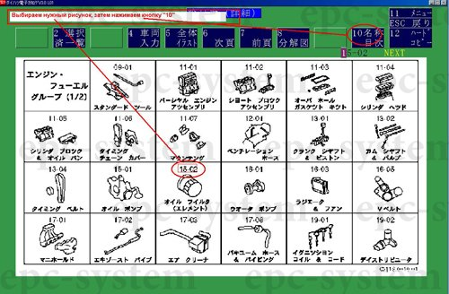 Инструкция к каталогу Daihatsu Japan